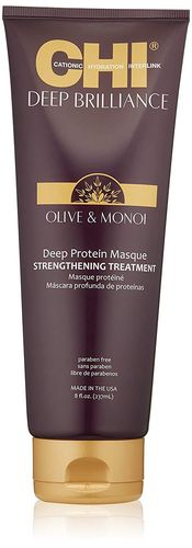 CHI Deep Brilliance Olive & Monoi Protein Masque Strengthening Treatment 237ml
